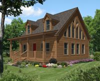 Modular Log Cabin Home