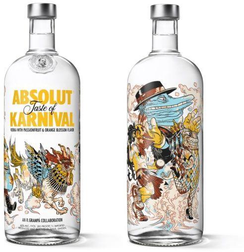 """Absolut Karnival"", vodka carnavalesco y festivo"