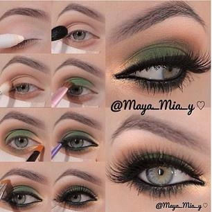 Muito amor por esse make da @maya_mia_y