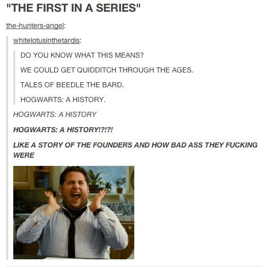 Wait what's happening? --the Harry Potter fandom is being revived!!