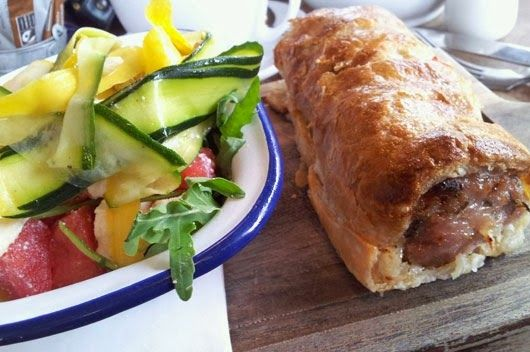 The Grind Café, Sheffield sausage roll!