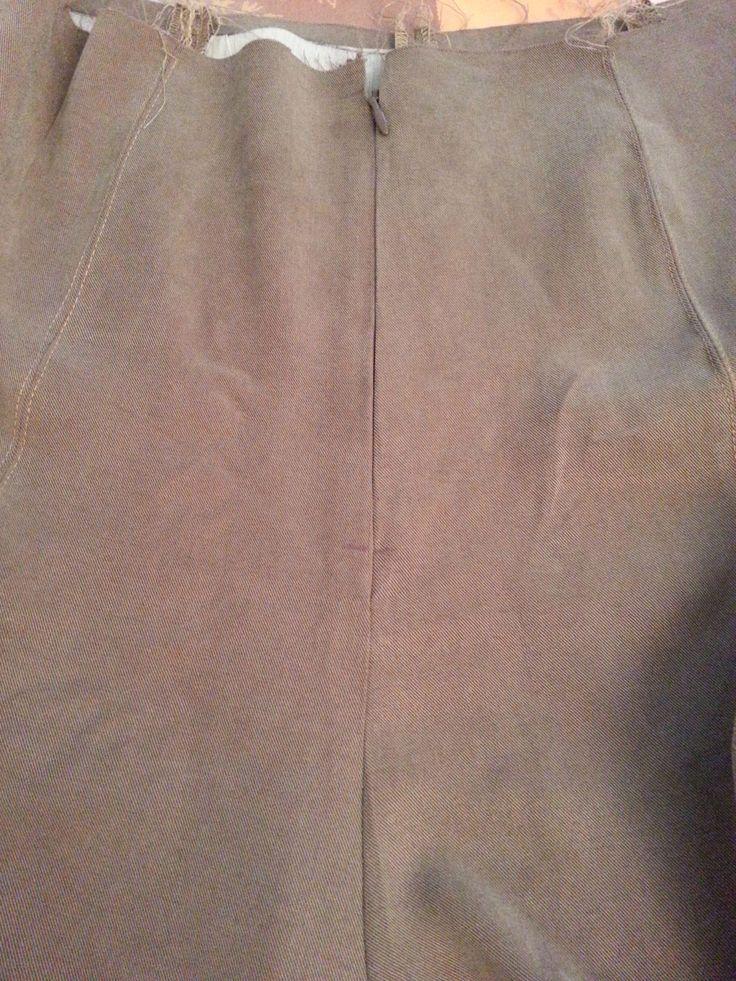 1000 id es sur le th me fermetures clairs sur pinterest tags cuir et boutons - Poser une fermeture eclair invisible ...