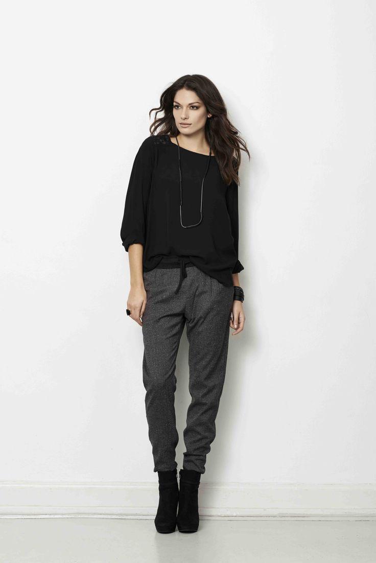 soyaconcept - knit - blouse - pants