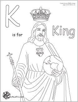 15 best pictures to color images on Pinterest  Catholic kids