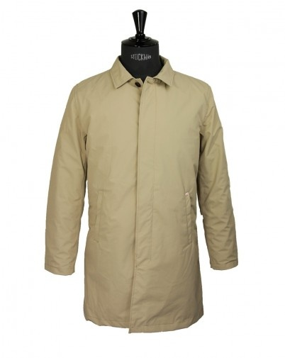 Imperméable SWIMS Milan Beige - Menlook - breathable jacket with removable inner