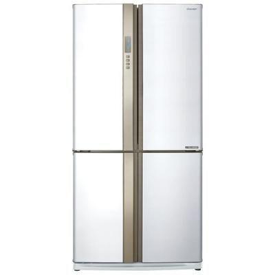 SHARP SJ-EX820FWH-Réfrigérateur Congélateur multi portes-605L (394L+211L)-Froid ventilé No Frost-A++-L89,2 x H183cm-Blanc