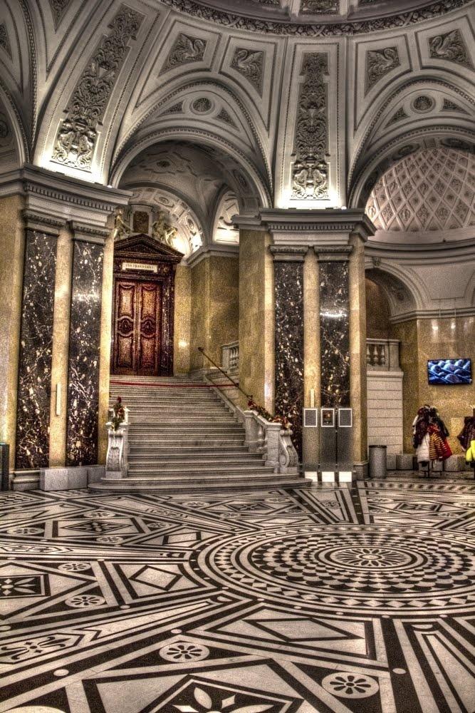 Hall of Naturhistorisches Museum, Vienna