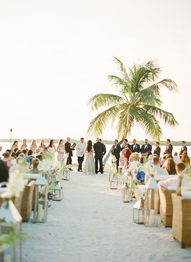 beach wedding in new jersey%0A For a beach wedding  http   www stylemepretty com