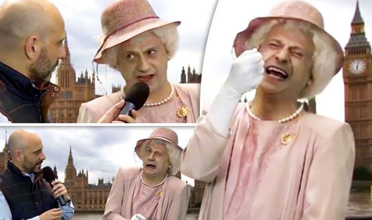 'The dis-United Kingdom' Spaniards mock UK and Queen during LEWD comedy skit