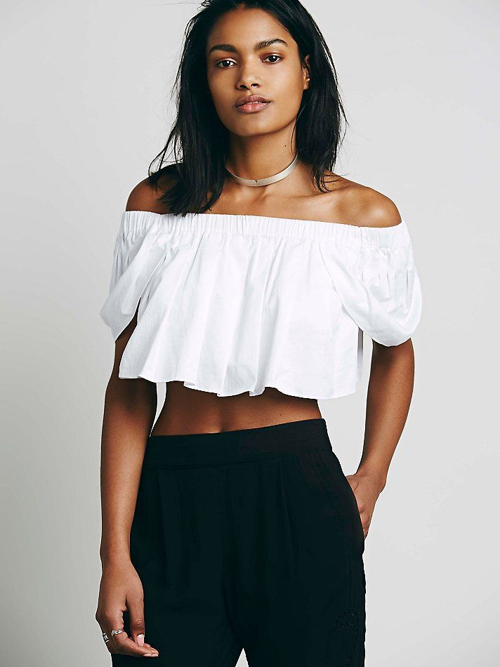 Mlm willow crop top at free people clothing boutique new arrivals pinterest clothing - Diva style fashion ...