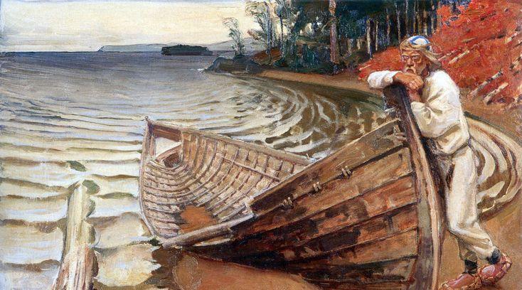 Akseli Gallen-Kallela: Purren valitus (1906)