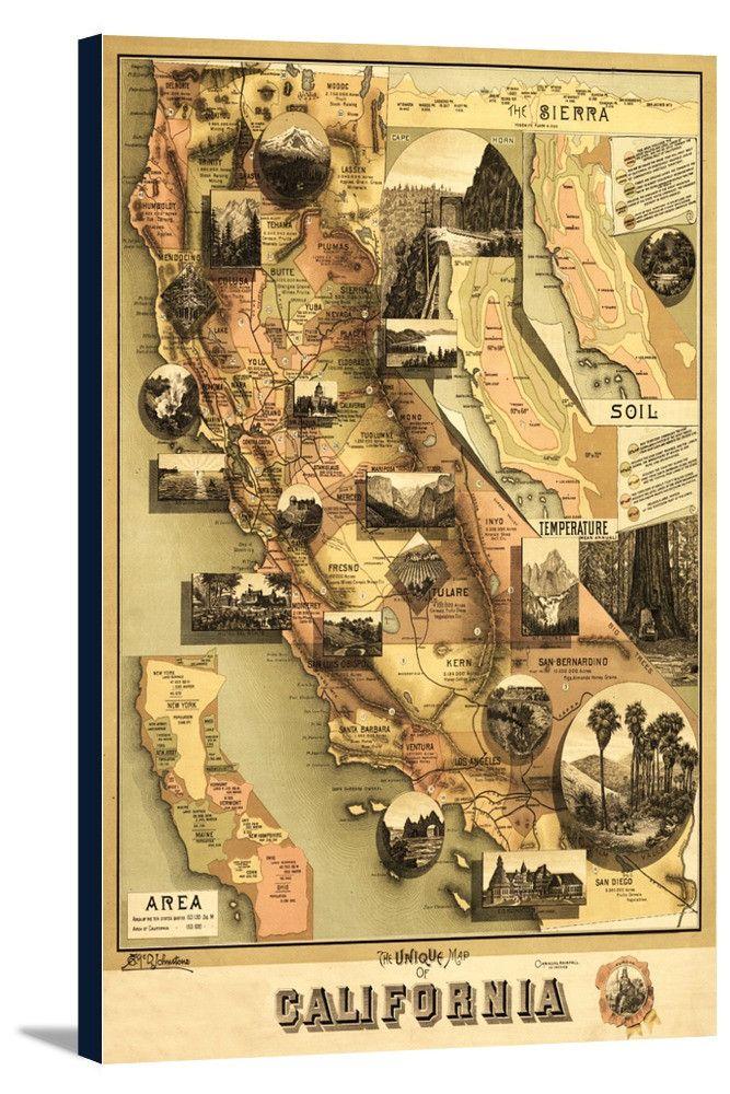 San Jose Monterey Map%0A California          Panoramic Map