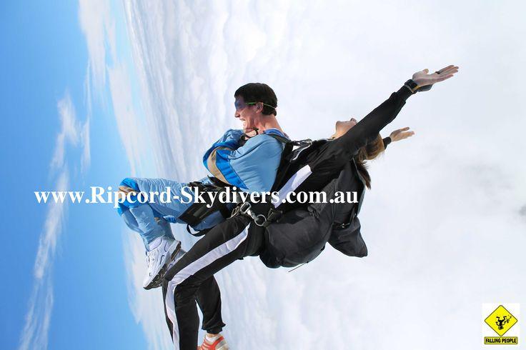 Skydiving in Australia - Tandem Skydiving - Skydive Brisbane www.Ripcord-Skydivers.com.au