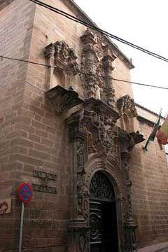 Edificio de los Juzgados. (Antiguo Hospital San Juan de Dios)