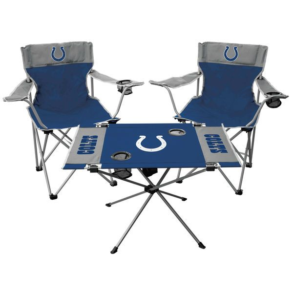 Indianapolis Colts Rawlings Tailgate Chair And Table Set - $69.99