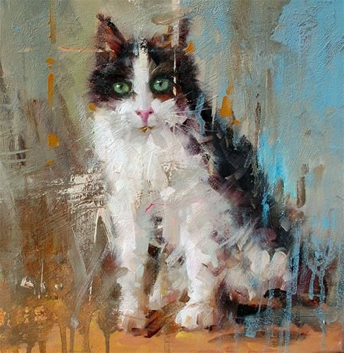 "Daily Paintworks - ""Black&white"" - Original Fine Art for Sale - © Mostafa Keyhani"