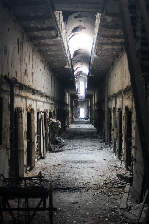 The Eastern State Penitentiary, in Philadelphia. Visiting this landmark is what triggered my interest in prison reform.