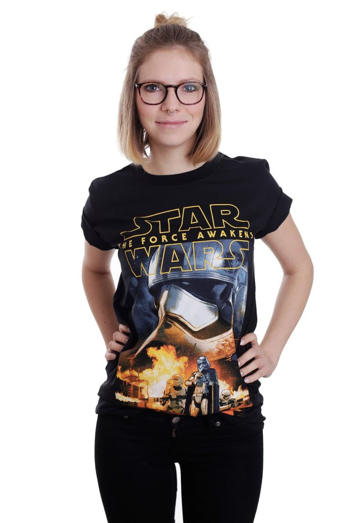 Star Wars - Phasma & Troopers - T-Shirt - Official Merch Store - Impericon.com UK