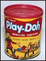 play doh - BUT OF COURSE!