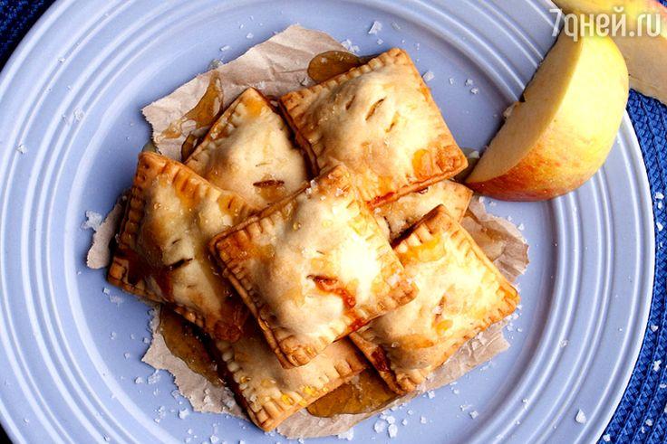 Карамельное печенье с яблоками: рецепт от бренд-шефа Дмитрия Снурницина