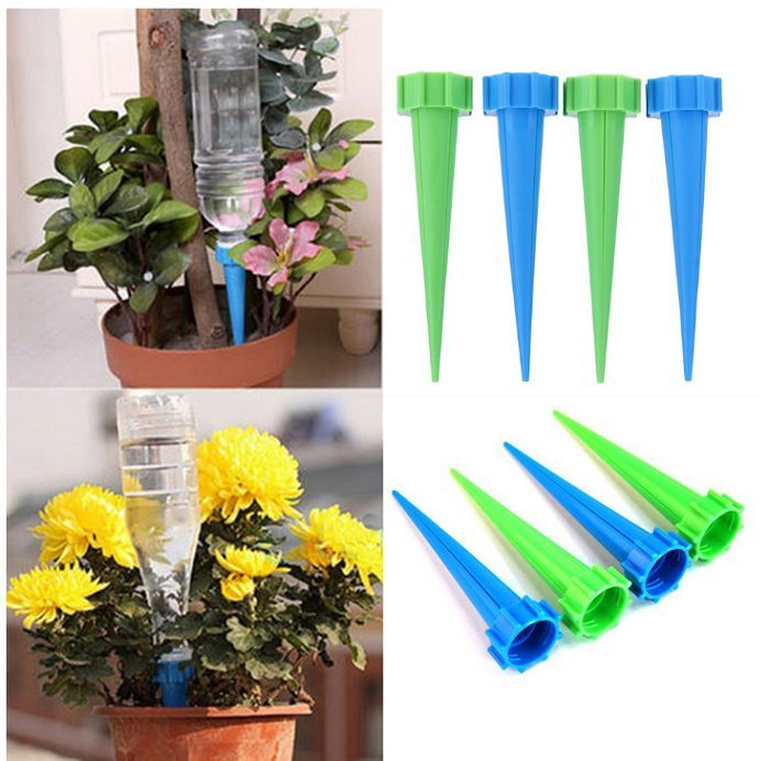 4 Pcs Lot Indoor Watering Irrigation Kit Houseplant Spikes 6 90 Free Shipping You Save 30 Off The Regular Price Of 9 90 Planting Flowers Plants Flower Pots
