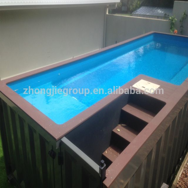 Source shipping container swimming pool on m.alibaba.com
