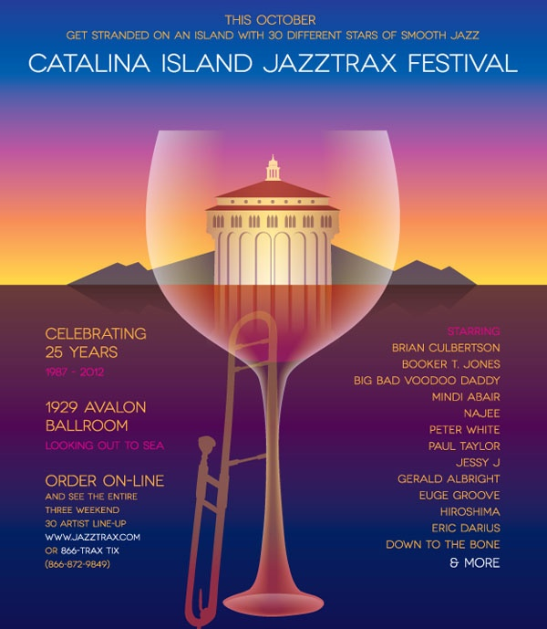 Welcome to Art Good's JazzTrax Catalina Island in October