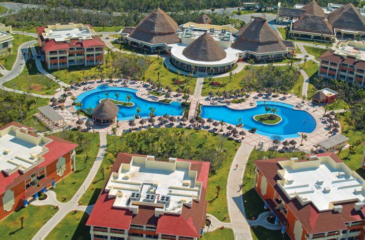 A beautiful view of the Grand Bahia Principe Coba in Mexico!