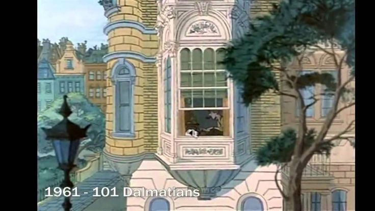 70 Years Multiplane Camera in Disney Movies - Compilation