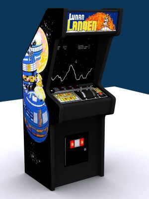 Grandparents had this in their basement...lunar lander arcade game | Game details