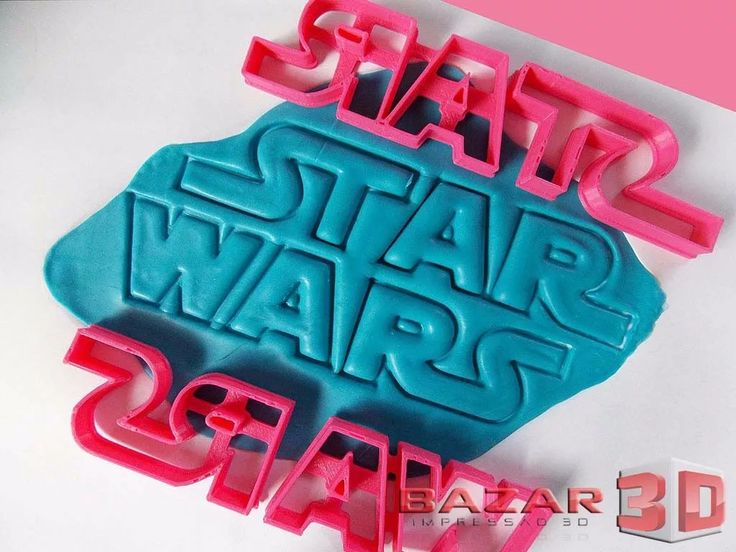 Cortador De Biscoito Logo Star Wars Logotipo Guerra Nas Est. - R$ 34,90 em Mercado Livre