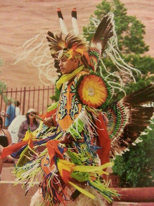 Choctaw Pow Wow performer 2013.