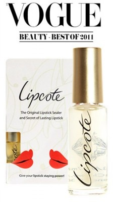 Lipcote Lipstick Sealer by Lipcote.   The Number 1 Lipstick Sealer - Stops Lipsticks Staining and feathering.