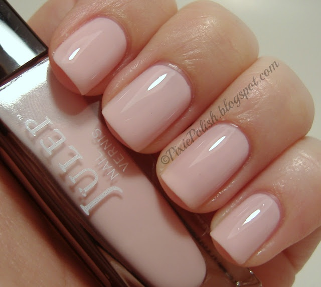 Pixie Polish: Julep: Penelope. opaque pale pink