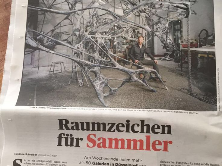 Wolfgang Flad in Handelsblatt | NEWS | posted by Artitious