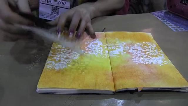 Scrap Time - Ep. 657 - Art Journaling Techniques with Dyan Reaveley http://vimeo.com/27416593#