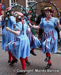 English, womens' folk dance for May Day.