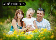 45 perces profi családi fotózás a gabor* photography-tól, 16 retusált képpel