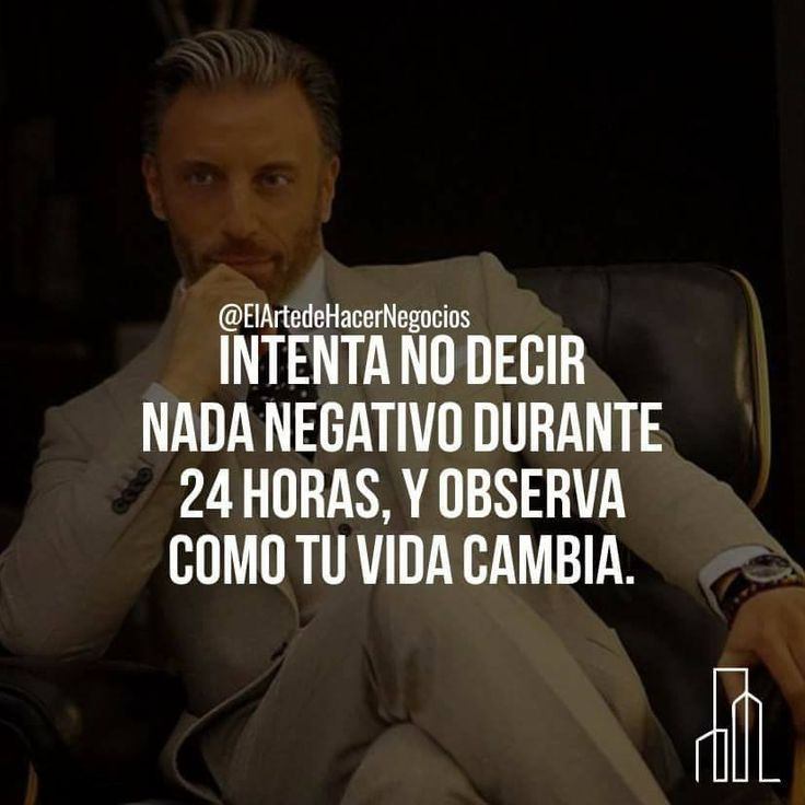 Intenta no decir nada negativo durante 24 horas... #energía positiva