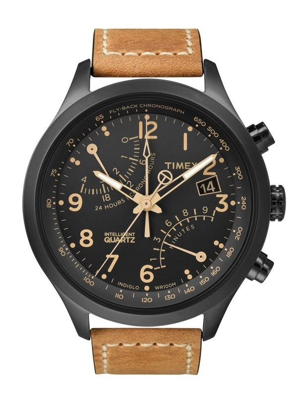 Ceas Timex T-Series Herrenuhr T2N700 Racing Fly Back Chronograph IQ