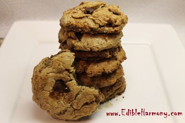 Paleo Chocolate Chip Cookies - Edible Harmony