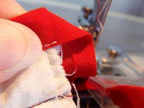 LOJA SINGER PORTO: Dicas de Costura - Coser os cantos com o calcador afitador