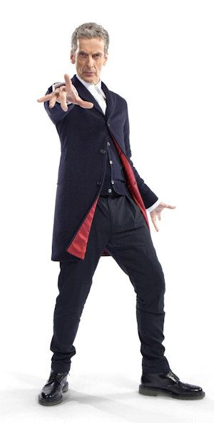 Peter Capaldi, el duodécimo Doctor