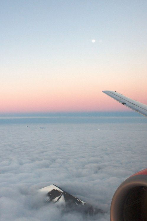 Plane window- mountain through the clouds: Clouds, Sky, Fly, Beautiful, Travel, Places, Photography