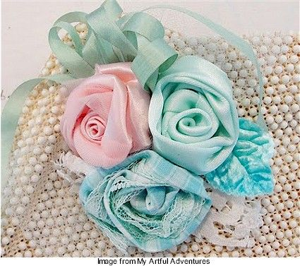 HOW TO MAKE RIBBON FLOWERS    Do You Like Arts & Crafts?  QUICKLY Learn how to make BEAUTIFUL Ribbon and Fabric Flowers that you can Wear, give as Gifts, or even Sell…even if you're a Total Beginner!