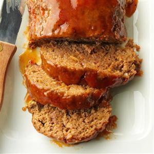 Sweet-and-Sour Meat Loaf Recipe -I combined a few great-tasting meat loaf recipes to create this flavorful version, which my husband loves. And because it's made in the microwave, the entree is ideal for busy nights. —Deb Thompson, Lincoln, Nebraska