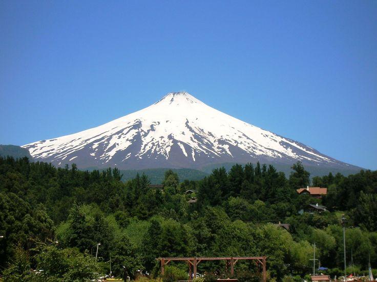 Villarica Volcano in Chile