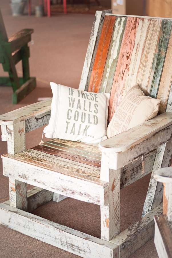 Adirondack chairs made out of reclaimed wood from Olivia Charles Antiques. 17 best fabulous colors for wood patina images on Pinterest