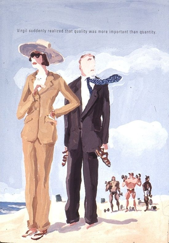 The Window – From Our Archive: JEAN-PHILIPPE DELHOMME Illustrates the Barneys Customer