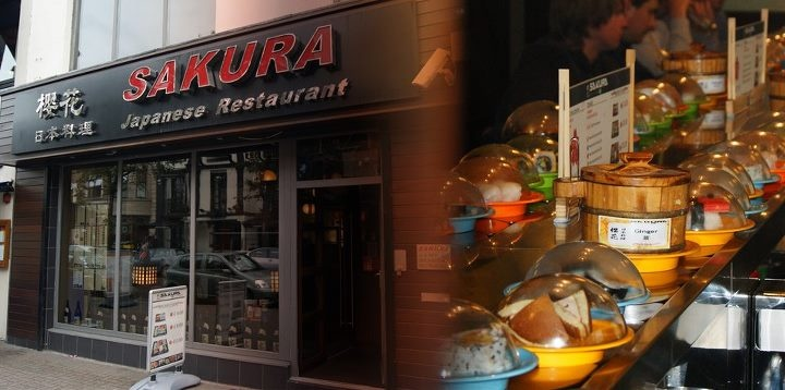 Sakura Sushi Bar Belfast. Best sushi in town! I miss this place so much.